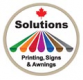 solutions printing signs and awnings ltd logo